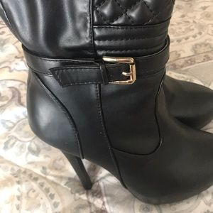 Madison Shoes - Thigh High Boots